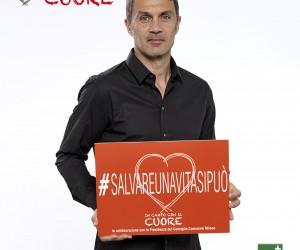 #Salvareunavitasipuò: Paolo Maldini Testimonial della nostra campagna