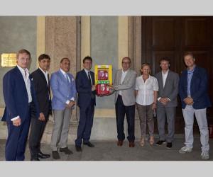 Installato defibrillatore a Palazzo Reale