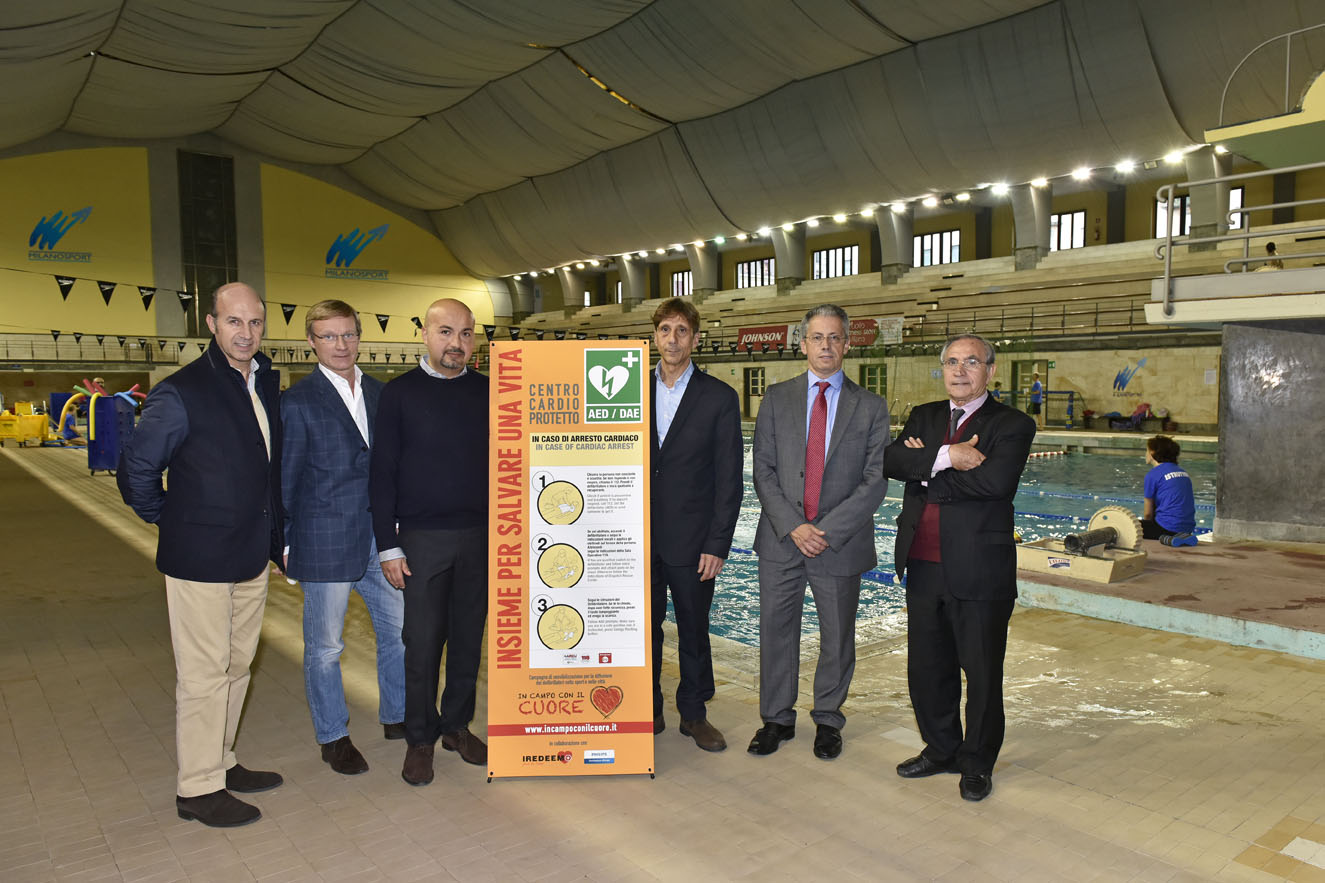 """Insieme Per La Vita"" Incampoconilcuore Nei Centri Milanosport"