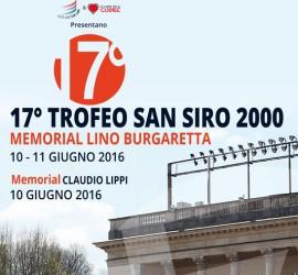 TROFEO SAN SIRO 2000 MEMORIAL LINO BURGARETTA