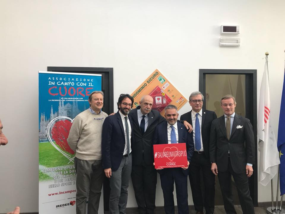 Posa Del DAE – ANACI Milano