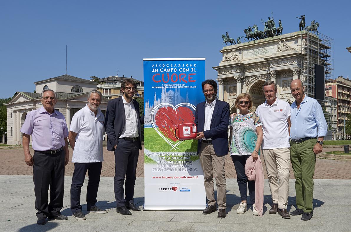 Il Parco Sempione Raddoppia La Cardioprotezione